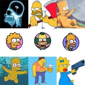 Аватары Симпсоны скачать