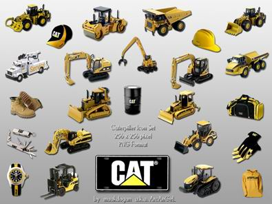 строительная техника иконки