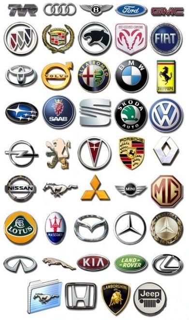 иконки автоэмблемы