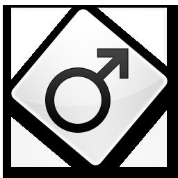 Иконка мужской символ
