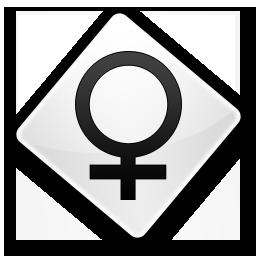 Иконка, женский символ