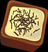 значки конфет из шоколада