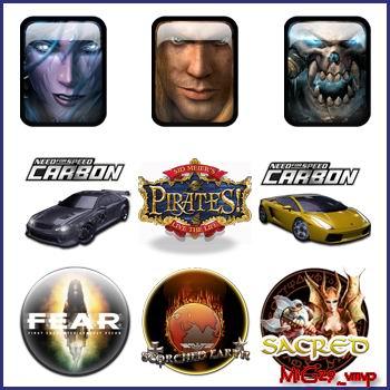 иконки из разных игр