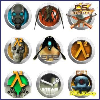 иконки логотипы игр