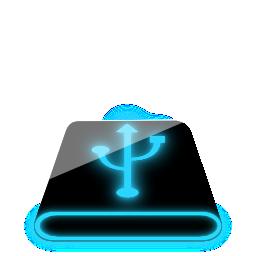 Значки и иконки с неоновым, синим свечением. Скачать бесплатно.