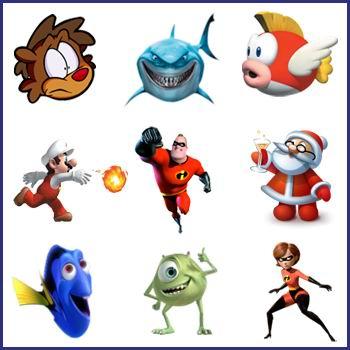 иконки мультяшки Cartoon Network