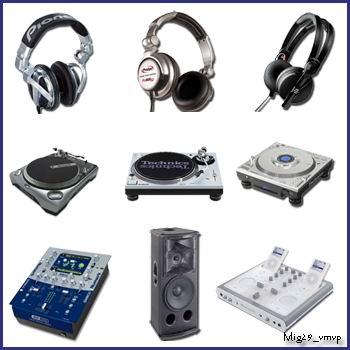 DJ иконки