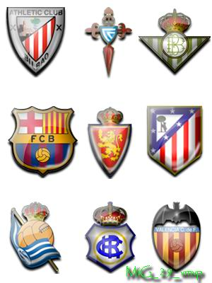 испанская лига иконки