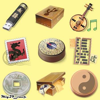 скачать бесплатно японские иконки
