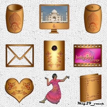 Индийские иконки для рабочего стола, mig29_vmvp