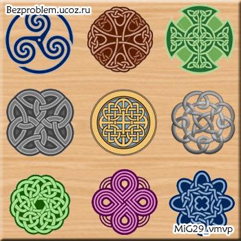 Кельтские узоры и орнамент. скачать иконки бесплатно