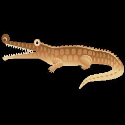 Иконка с крокодилом