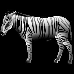 Иконка в виде зебры