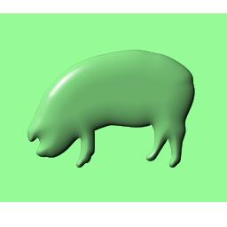 Иконка - свинья