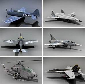 скачать обои 3D боевая авиация