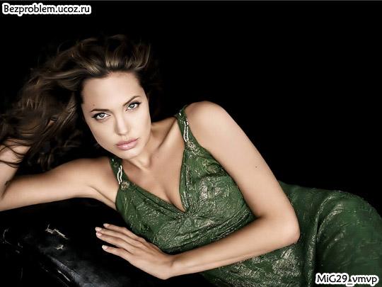 Классные, бесплатные обои с Анджелиной Джоли